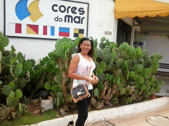 Hotel Cores Do Mar: Frente do Hotel