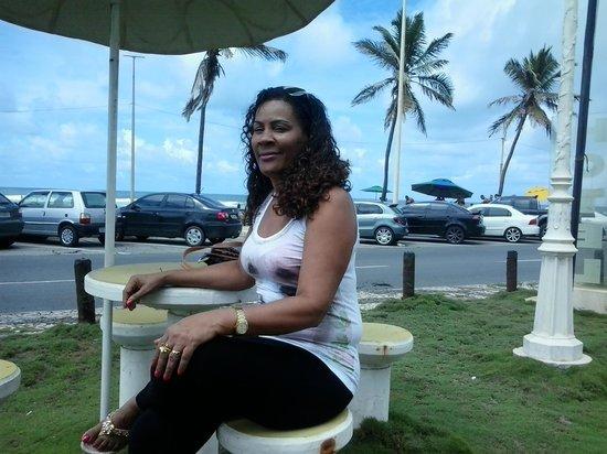 Hotel Cores Do Mar: Vista perfeita do trânsito