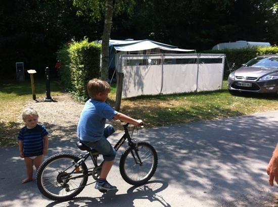 La Garangeoire: riding with no stabilisers!