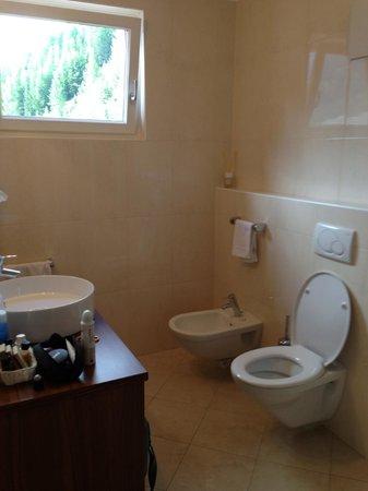 Hotel Valpudra : il bagno