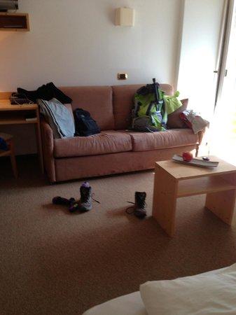 Hotel Valpudra : divano