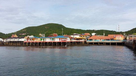 Pikun Resort : Koh Larn from the ferry