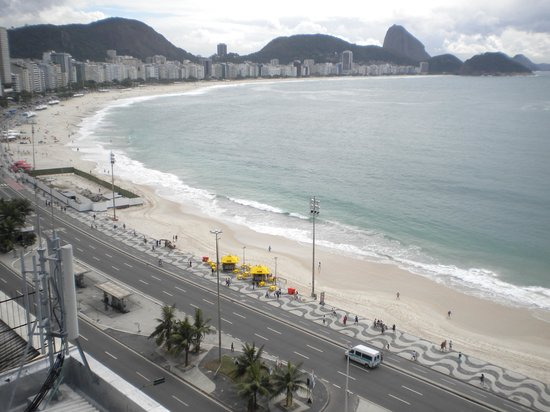Orla Copacabana Hotel: vista do hotel