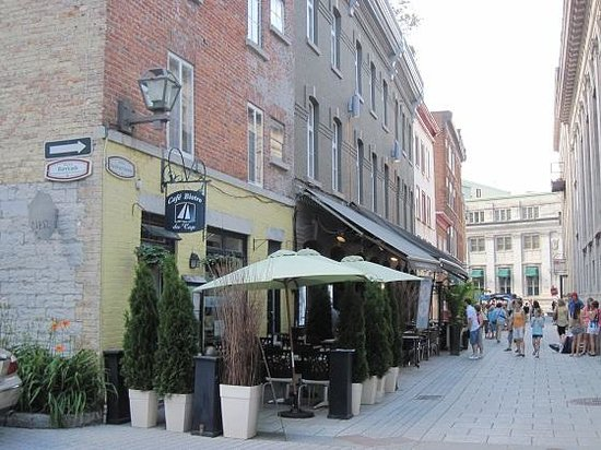 Hotel Le Germain Quebec : A row of great restaurants just one block away
