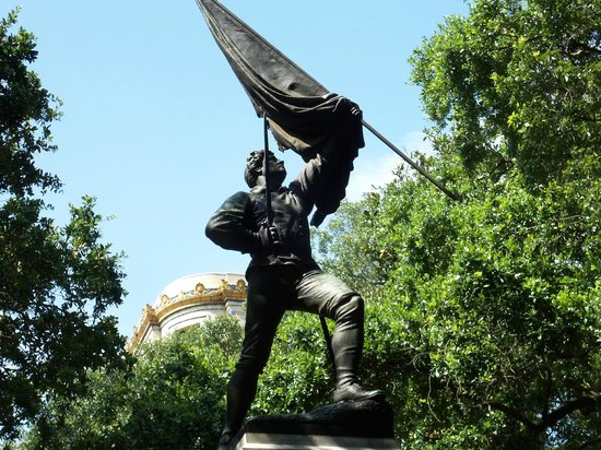 Madison Square : Sgt. William Jasper, a soldier in the Siege of Savannah