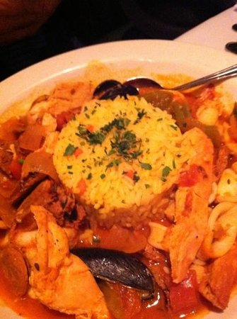 jambalaya was really good with just the right amount of spice and a large variety of seafood