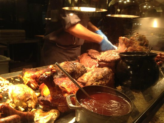 Meat carving station picture of bacchanal buffet las