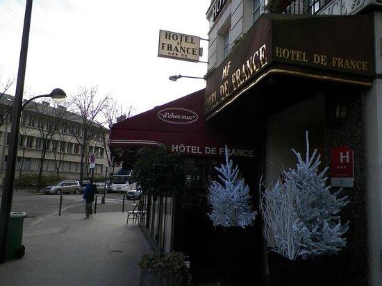 โรงแรมเดอ ฟรองซ์ อินวาลิเดส: Hotel de France Invalides