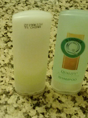 Baymont Inn & Suites Covington: Use conditioner bottle left for us