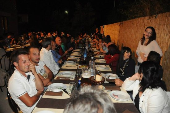 "DINNER PARTY RESTAURANT IN SAN GINESIO ""FRONTE DEL PARCO STEAKHOUSE"" TEL 3664125751"