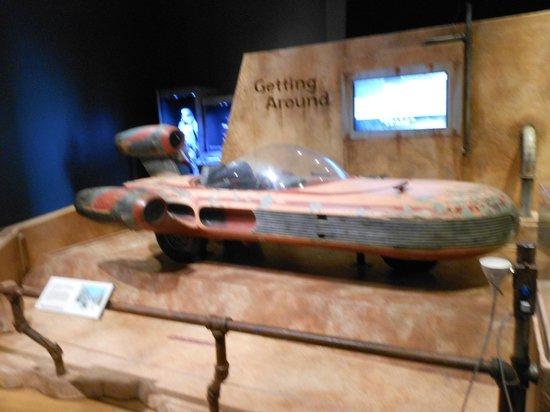 Indiana State Museum: Land speeder