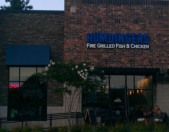 Humdingers Fire Grill Fish and Chicken : Store front in shopping center