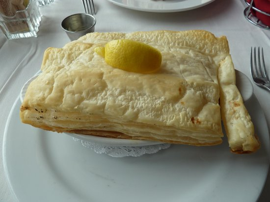 Perfect Landing : seafood pie-filled to the brim with yummy seafood-very rich