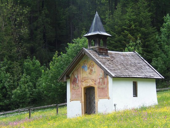 Schloss Elmau: A 500+ year-old chapel on the castle grounds