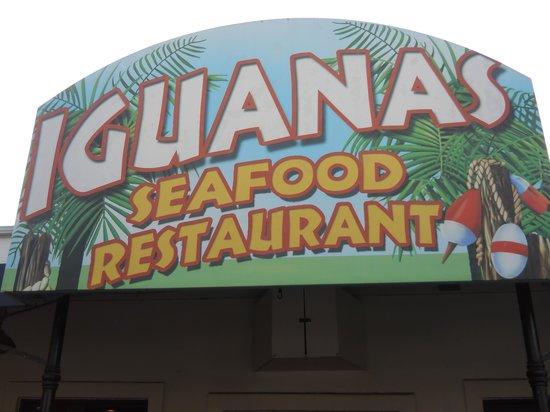 Ocean Inn and Suites: Iguanas Restaurant Sign