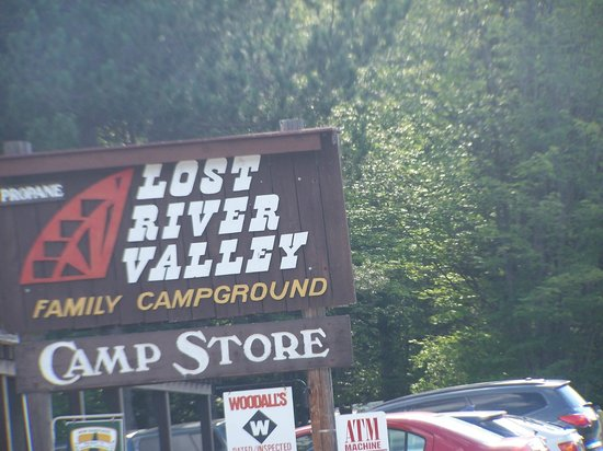 Lost River Valley Campground: sign
