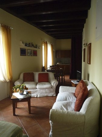 Palazzo Montevago : our living/dining area