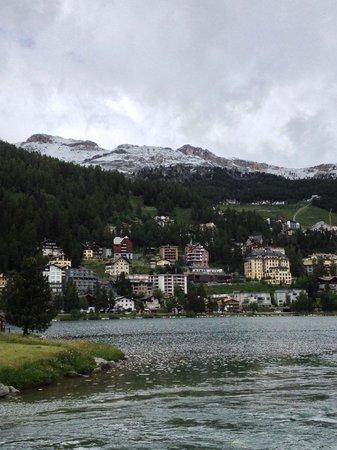 Giardino Mountain: St. Moritz lake