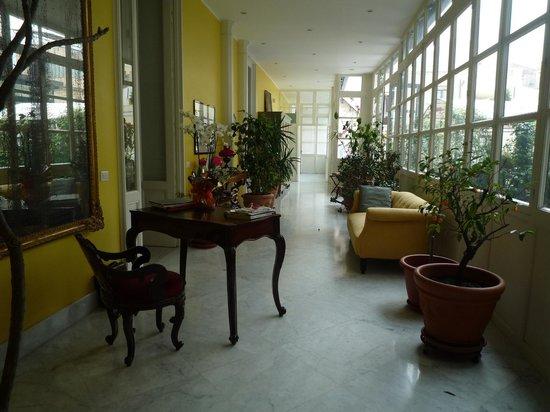 Palazzo Montevago: the palazzo