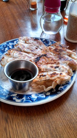 Kusaka Japanese Restaurant: Gyoza- dumplings with pork