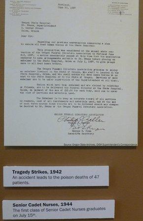 Oregon State Hospital - Museum of Mental Health : History