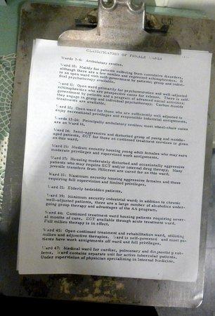 Oregon State Hospital - Museum of Mental Health : Description of Women's Wards