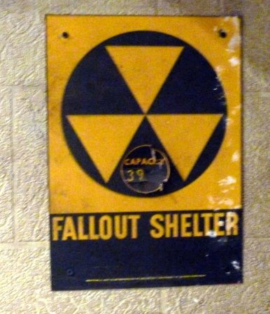 Oregon State Hospital - Museum of Mental Health : Fallout Shelter - capacity 39