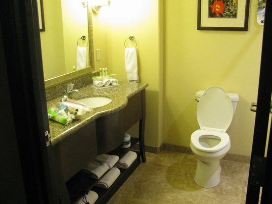 Holiday Inn Express & Suites Gallup East: Clean spaceous bathroom