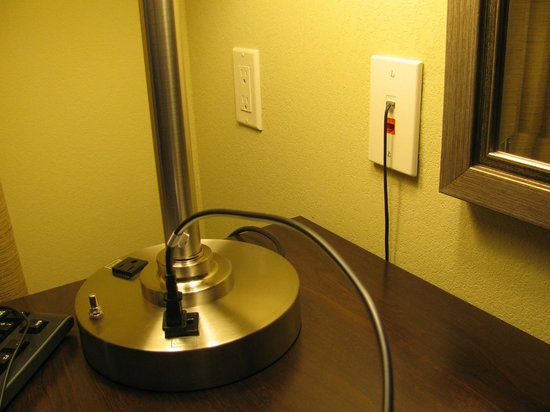 Holiday Inn Express & Suites Gallup East: Lots of easy to reach outlets