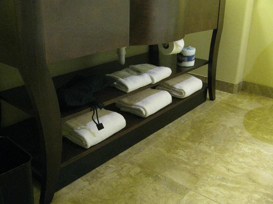 Holiday Inn Express & Suites Gallup East : Plenty of fluffy towels