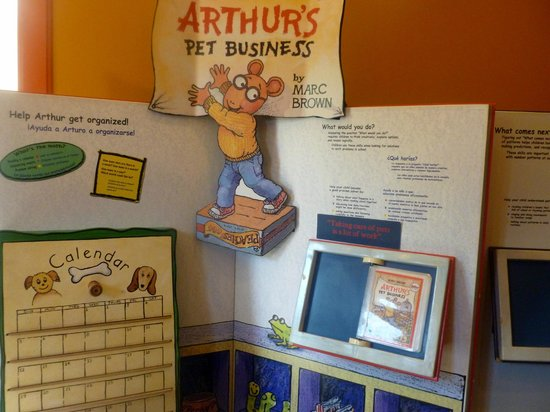 Gilbert House Children's Museum: Arthur's Pet Business