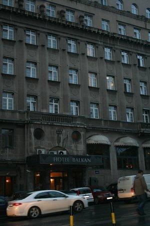 Balkan Orient Express Hotel: ホテルの概観です