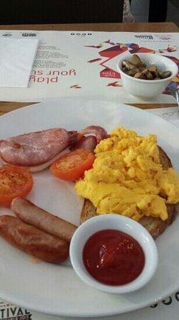 Wagamama: english breakfast