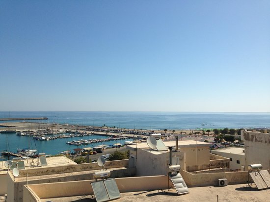 Achillion Palace : View from 5th floor room