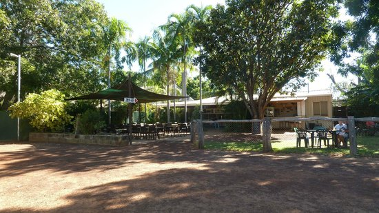 Drysdale River Station: The Bar and Restaurant area