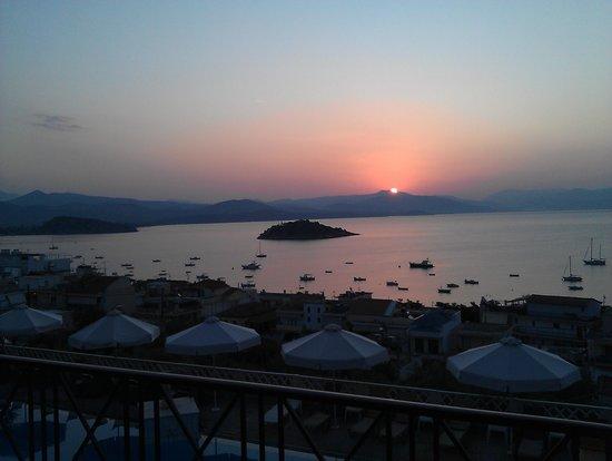 Hotel King Minos: dit is de ochtend zon vanuit je kamer
