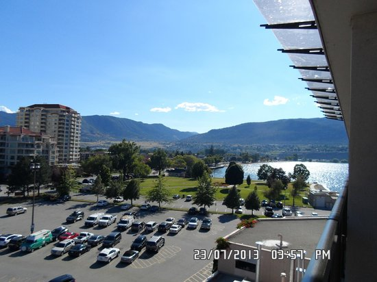 Penticton Lakeside Resort Convention Centre & Casino: view from our room