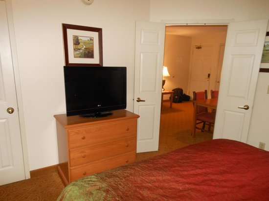 Homewood Suites by Hilton Toledo-Maumee: TV in room