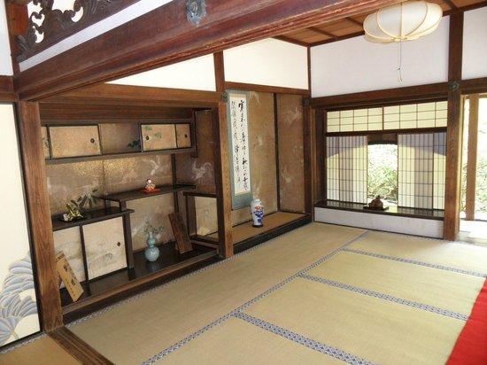 Shoren-in Temple (Shoren-in Monzeki): Interior first building