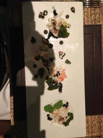 Seaduction: Alaskan king crab and tarragon mousse