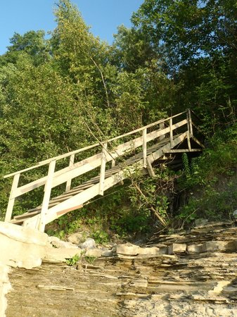 Lakeview on the Lake: The dreaded stairs...