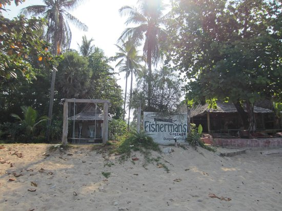 Fisherman's Cottage: from the beach