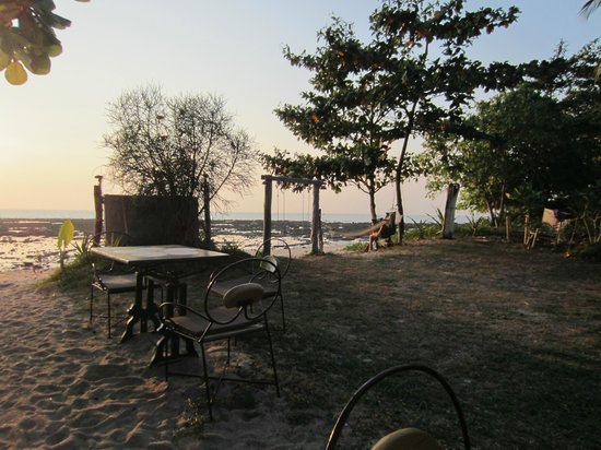 Fisherman's Cottage: view from dinner table