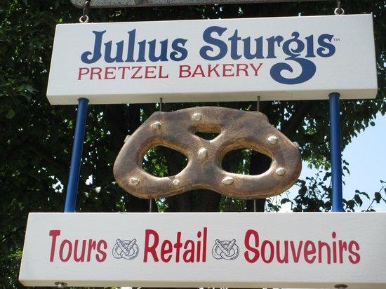 Julius Sturgis Pretzel Bakery: So You Don't Pass Us By