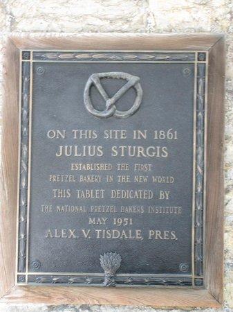 Julius Sturgis Pretzel Bakery: Landmark