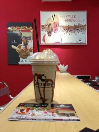 Cremolatti: milkshake