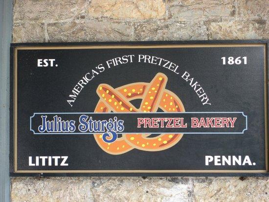 Julius Sturgis Pretzel Bakery: Welcome