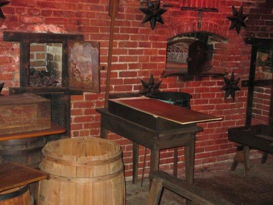 Julius Sturgis Pretzel Bakery: Ovens
