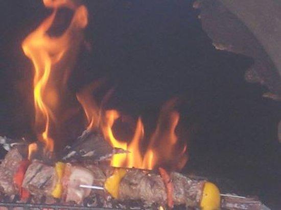 A Casa di Chiara: Le Grill au feu de bois