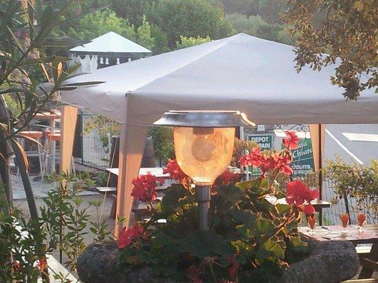 A Casa di Chiara: Terrasse face au soleil couchant